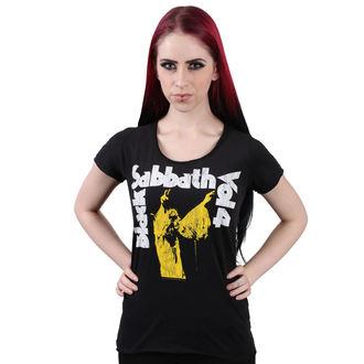 tričko dámské BLACK SABBATH - BLACK - AMPLIFIED, AMPLIFIED, Black Sabbath