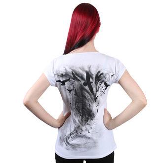 tričko dámské ALISTAR - Raven - White, ALISTAR