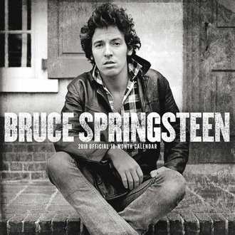 kalendář na rok 2018 BRUCE SPRINGSTEEN, Bruce Springsteen