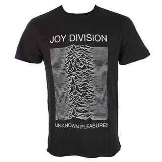 tričko pánské JOY DIVISION - UNKNOWN PLEASURES - CHARCOAL - AMPLIFIED, AMPLIFIED, Joy Division