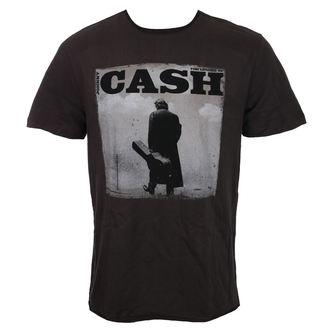 tričko pánské JOHNNY CASH - WALKING LEGEND - CHARCOAL - AMPLIFIED, AMPLIFIED, Johnny Cash