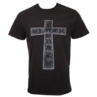 tričko pánské BLACK SABBATH - CROSS - CHARCOAL - AMPLIFIED, AMPLIFIED, Black Sabbath