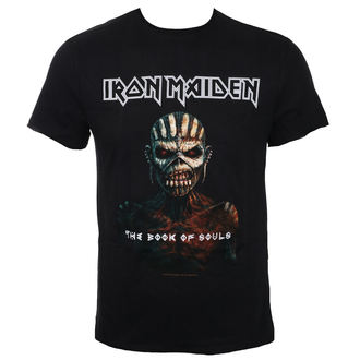 tričko pánské IRON MAIDEN - THE BOOK OF SOULS BK - AMPLIFIED, AMPLIFIED, Iron Maiden