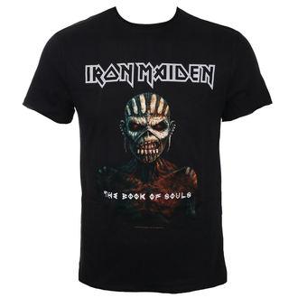 tričko pánské IRON MAIDEN - THE BOOK OF SOULS BK - AMPLIFIED, AMPLIFIED, Iron Maiden