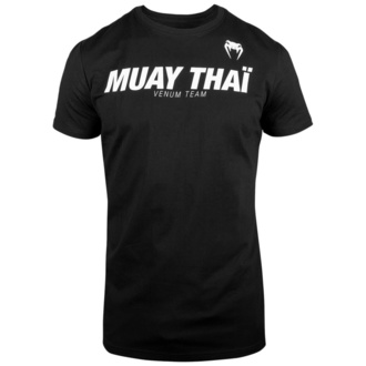 tričko pánské Venum - Muay Thai VT - Black/White, VENUM