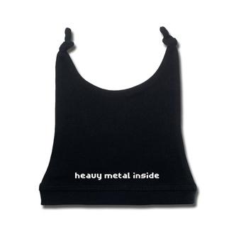 čepice dětská heavy metal inside in white - black - Metal-Kids, Metal-Kids