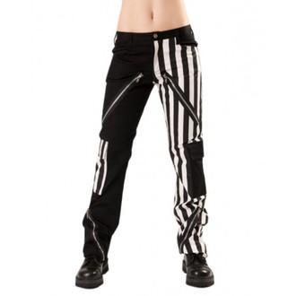 kalhoty pánské Black Pistol - Freak Pants Stripe Black/White - B-1-21-319-01