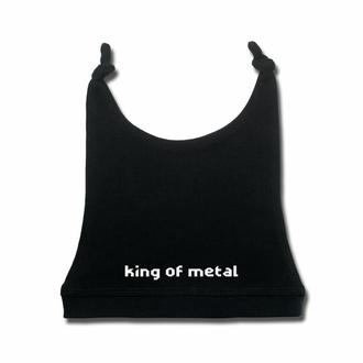 čepice dětská king of metal - black - white - Metal-Kids, Metal-Kids