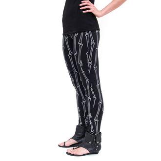 leginy dámské -  EMILY THE STRANGE - Emily (E2081605) Strange Bones leggins