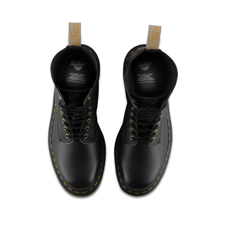 boty Dr. Martens - 10 dírkové - 1490 Vegan Black,felix Rub Off - DM23981001