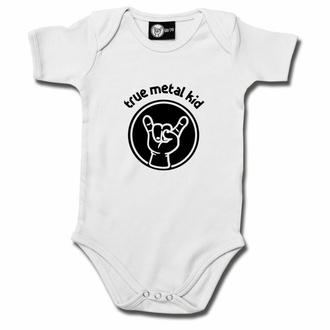 body dětské true metal kid - white - black - Metal-Kids, Metal-Kids