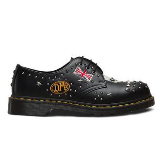 boty Dr. Martens - 3 dírkové - 1461 Smooth - black
