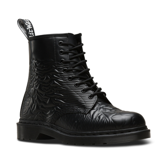 boty Dr. Martens - 8 dírkové - Joy Division - 1460 Black - Unknown Smooth