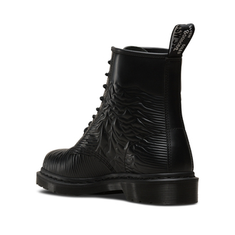 boty Dr. Martens - 8 dírkové - Joy Division - 1460 Black - Unknown Smooth, Dr. Martens, Joy Division