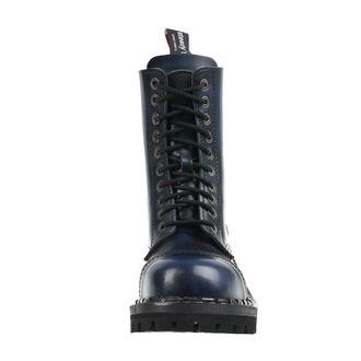 boty STEADY´S - 10 dírkové - Blue black, STEADY´S