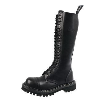 boty STEADY´S - 20 dírkové - Black, STEADY´S