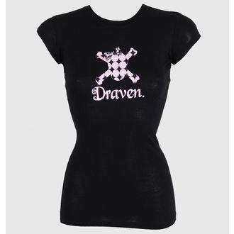 tričko dámské DRAVEN - Polkaskull, DRAVEN