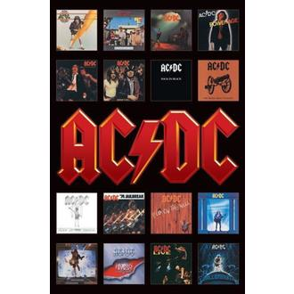 plakát - AC/DC (Album Covers) - PP30748, PYRAMID POSTERS, AC-DC