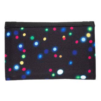 peněženka MEATFLY - NEEDLE - D - 2/26/55 - Lights Neon Black