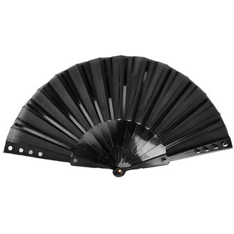 vějíř PUNK RAVE - Deviless spiked fan, PUNK RAVE
