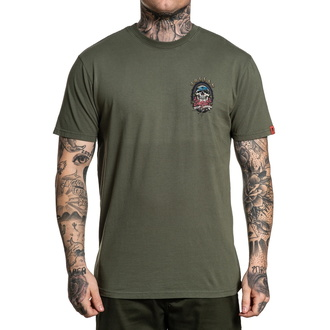 tričko pánské SULLEN - SKULLOHA - THYME - SCM2787_THYM