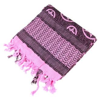 šátek ARAFAT - palestina - růžová - pentagram 1