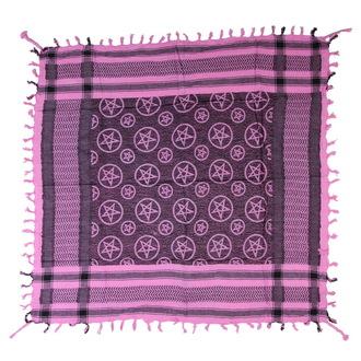 šátek ARAFAT - palestina - růžová - pentagram 1 - 20187-218