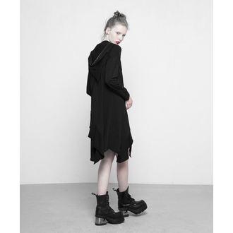 šaty dámské PUNK RAVE - Black Pixie - OPQ-297 BK
