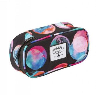 pouzdro (penál) MEATFLY - B - Blossom Black, MEATFLY
