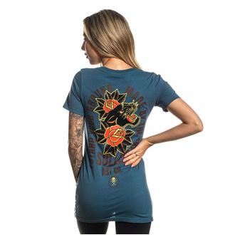 tričko dámské SULLEN - CHAMBERS - AEGEAN BLUE, SULLEN
