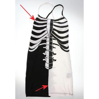 šaty dámské Heartless - FRACTURE - BLACK/WHITE - POŠKOZENÉ, HEARTLESS
