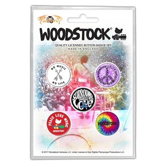placky WOODSTOCK – SURROUND YOURSELF WITH LOVE - RAZAMATAZ, RAZAMATAZ