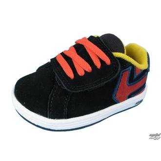boty dětské ETNIES - Toddler Fader - BLACK/RED