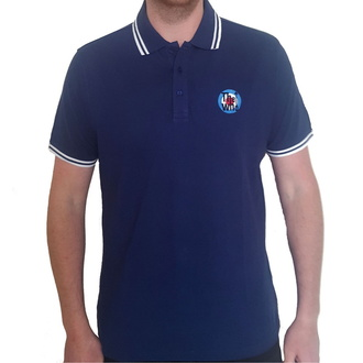 tričko pánské The Who - Target Logo - NAVY Polo - ROCK OFF, ROCK OFF, Who