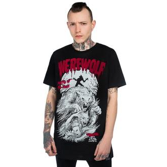 tričko unisex KILLSTAR - Werewolf - BLACK - KSRA001857