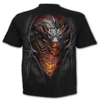 tričko pánské SPIRAL - DRACONIS - Black, SPIRAL