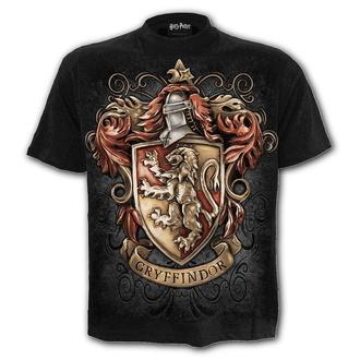 tričko pánské SPIRAL - HARRY POTTER - GRYFFINDOR CREST - Black, SPIRAL