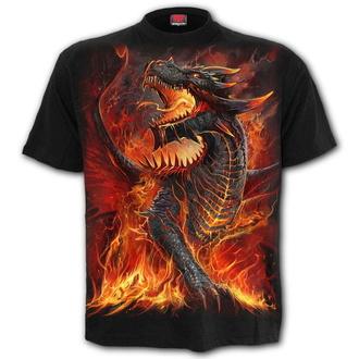 tričko dětské SPIRAL - DRACONIS - Black - L046K101