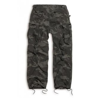kalhoty SURPLUS - Vintage - BLACK CAMO, SURPLUS