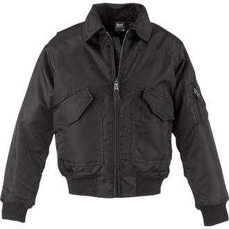 bunda pánská zimní Brandit - CWU Jacke - Black - 3110/2