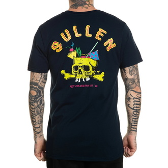 tričko pánské SULLEN - BRAIN DEAD - NAVY - SCM3161_NV