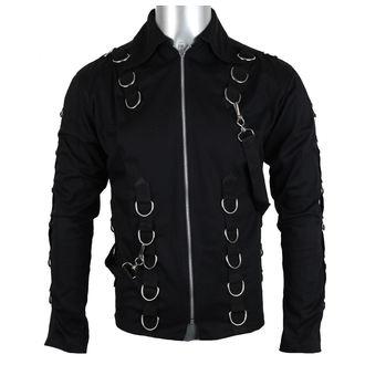 košile pánská Aderlass - Cusp Cardy Denim Black, ADERLASS