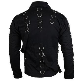 košile pánská Aderlass - Cusp Cardy Denim Black