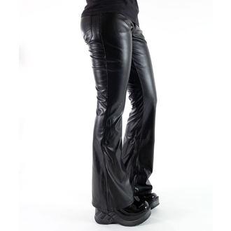 kalhoty dámské Mode Wichtig - Bell Bottom Sky Black, MODE WICHTIG