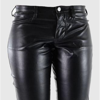 kalhoty dámské Mode Wichtig - Bell Bottom Sky Black