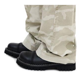 boty STEEL - 3 dírkové černé (101/102 Black)