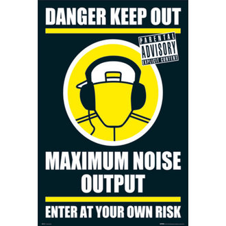 plakát - DANGER KEEP OUT II - GN0139 - GB posters