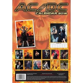 kalendář na rok 2018 AC/DC, AC-DC