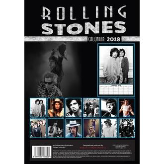 kalendář na rok 2018 ROLLING STONES, Rolling Stones