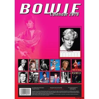 kalendář na rok 2018 DAVID BOWIE, David Bowie